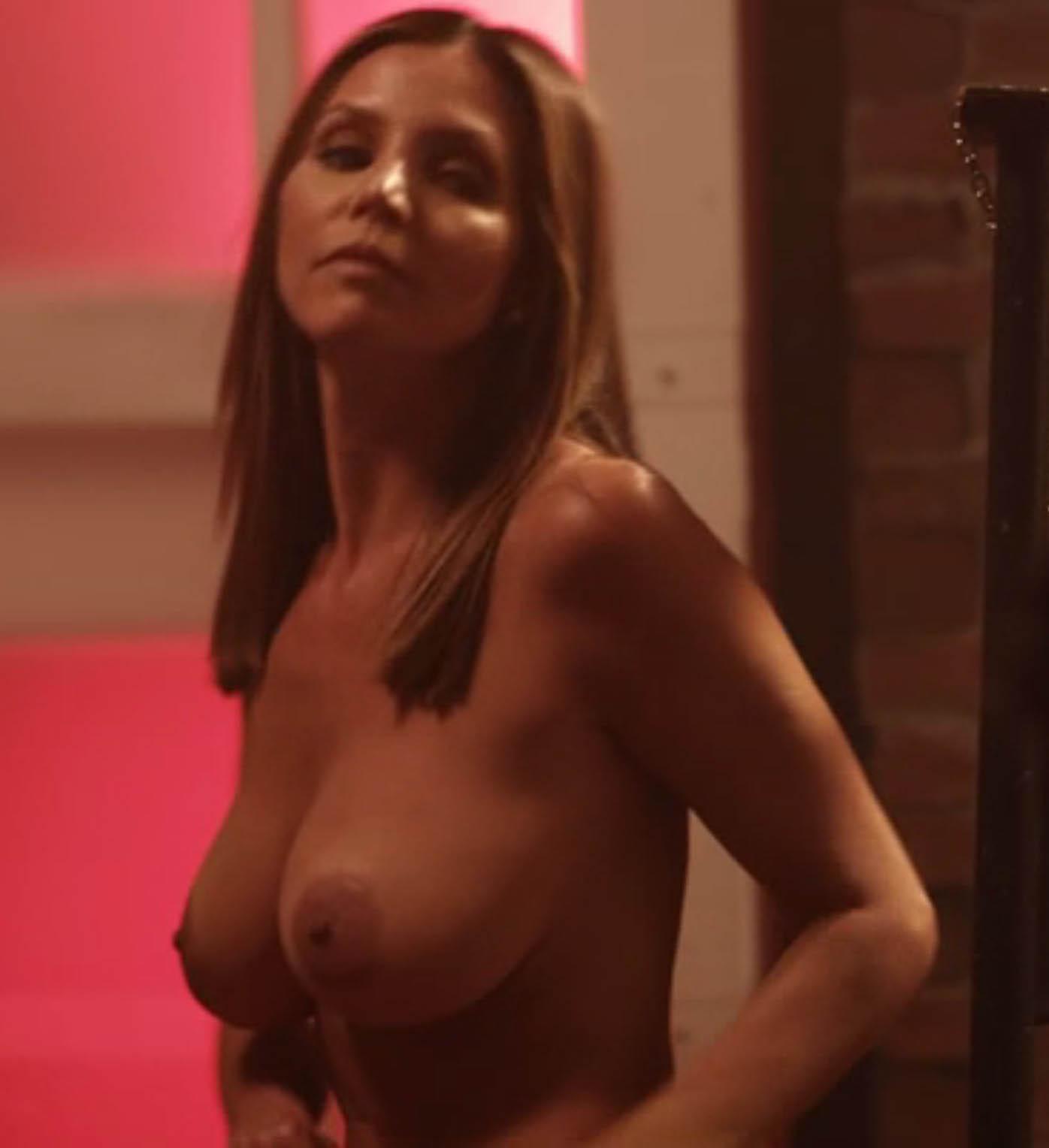 naked girl in thong