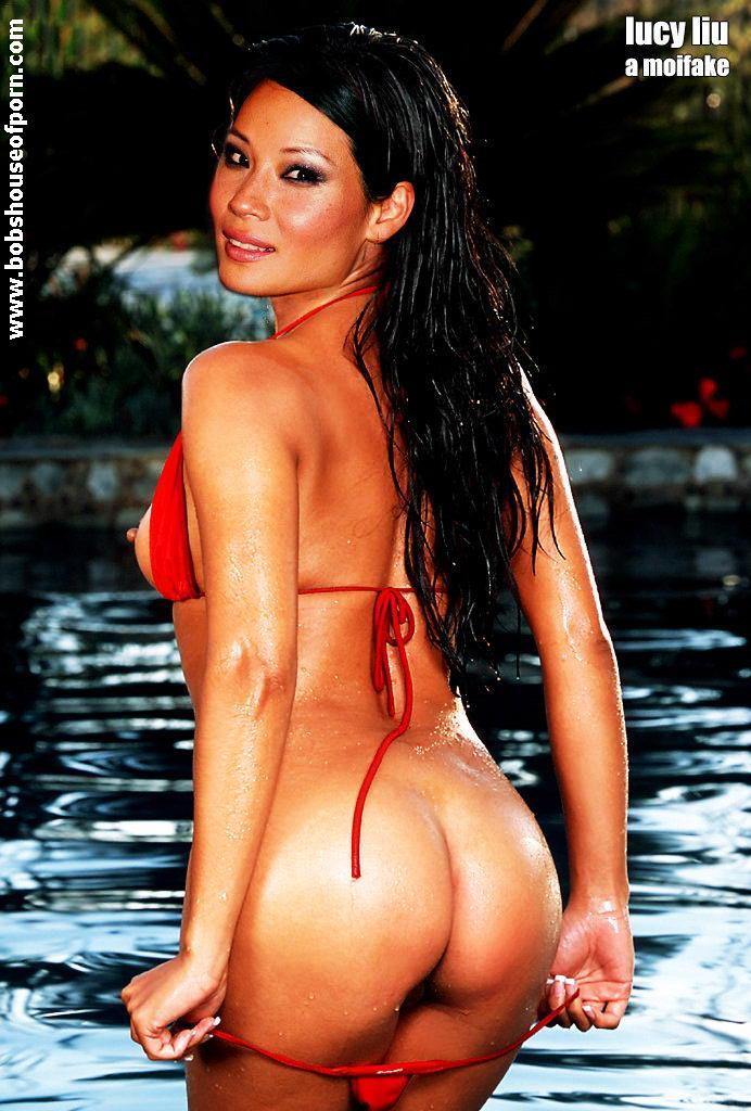 bikini Lucy liu